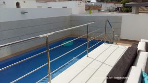 Barandilla piscina nº 17