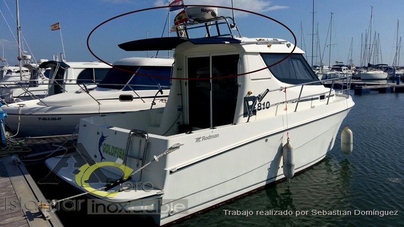 Estructuras para Toldos de Barcos 1