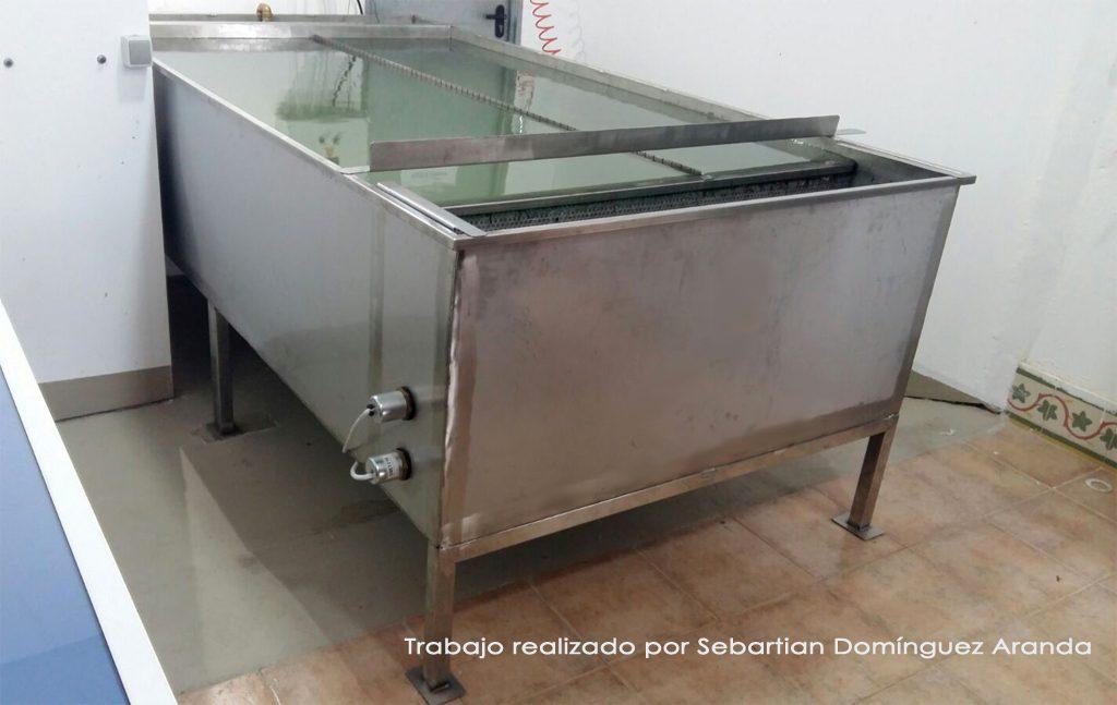 Acero Inoxidable Huelva Islamar, Mueble contenedor de Líquidos