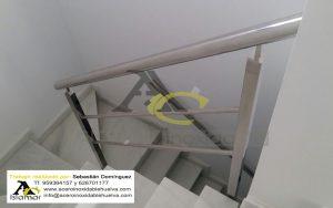 Barandilla de Escalera Acero Inoxidable