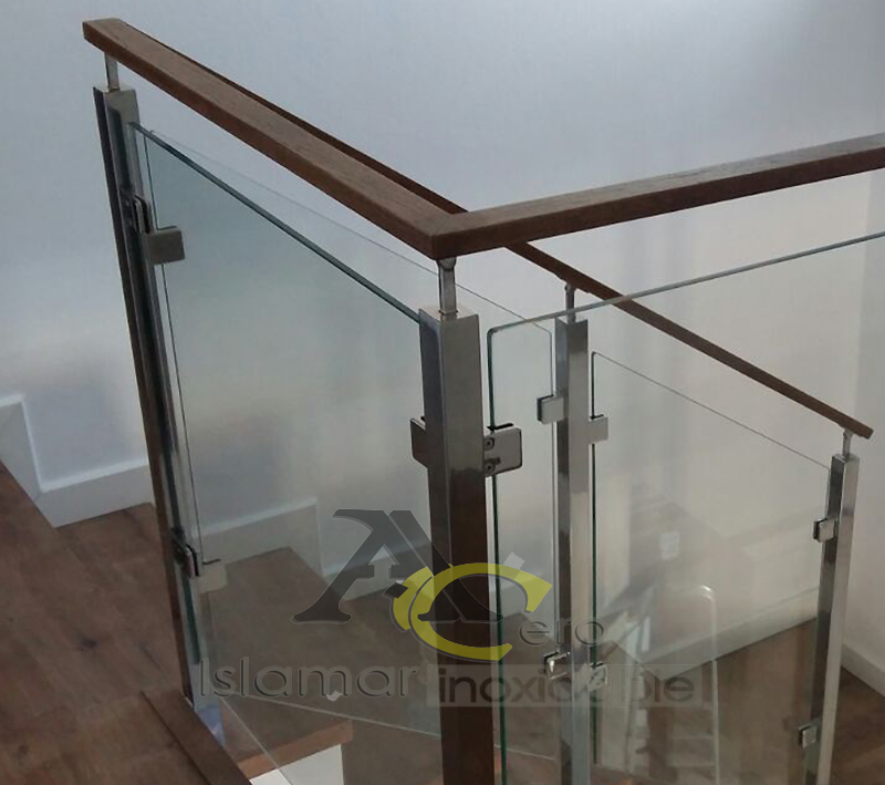 Baranda para escalera y altillo en Acero- Islamar Inoxidable Huelva