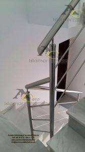 Barandilla de escalera en Acero – Islamar Inoxidable Huelva