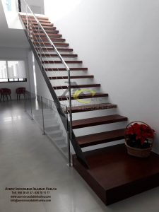 Barandilla de Tensores de Acero para escalera – Islamar Inoxidable Huelva