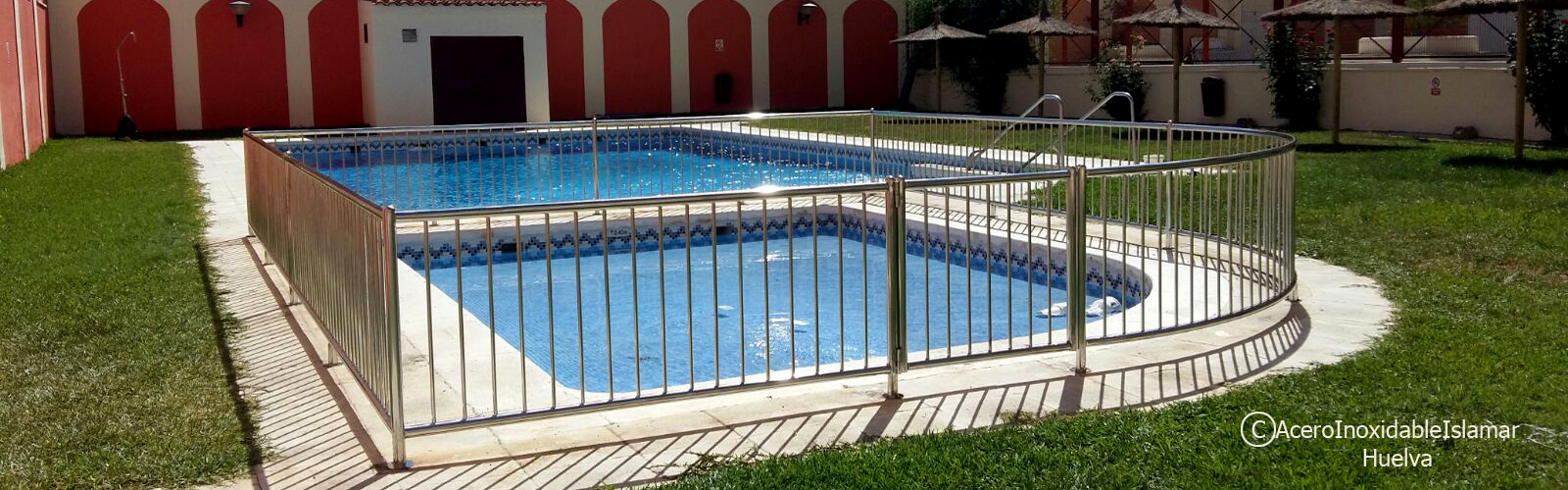 Baranda piscina acero inoxidable islamar huelva acero inoxidable islamar huelva - Piscinas de acero inoxidable ...