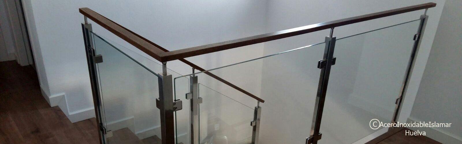 Baranda escalera Acero Inoxidable Islamar Huelva