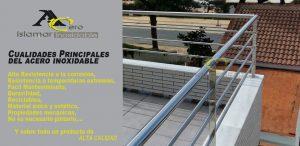 Barandilla en Acero Inoxidable – Inoxidables Islamar Huelva