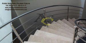 Barandilla Escalera – Acero Inoxidable Islamar Huelva
