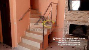 Baranda en Acero Inoxidable y Vidrios – Inoxidables Islamar Huelva