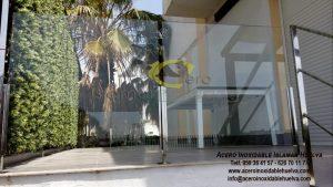 Barandilla en Acero Inoxidable y Cristales de seguridad- Inoxidables Islamar Huelva