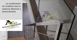 Barandilla en Acero Inoxidable y Vidrios – Inoxidables Islamar Huelva