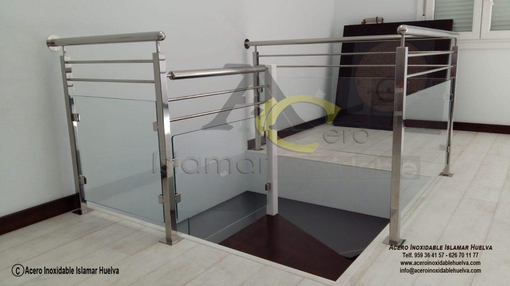 Barandas de Vidrios de Seguridad y Acero Inoxidables- Inoxidable Islamar #Huelva