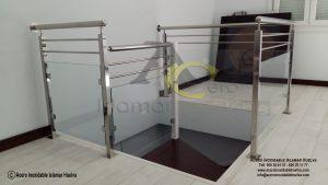 Barandas de Vidrios de Seguridad y Acero Inoxidables- Inoxidable Islamar Huelva
