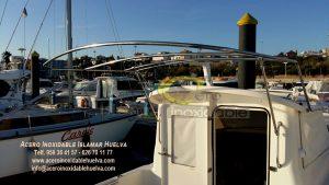 Toldo barco Acero Inoxidable-Islamar Huelva