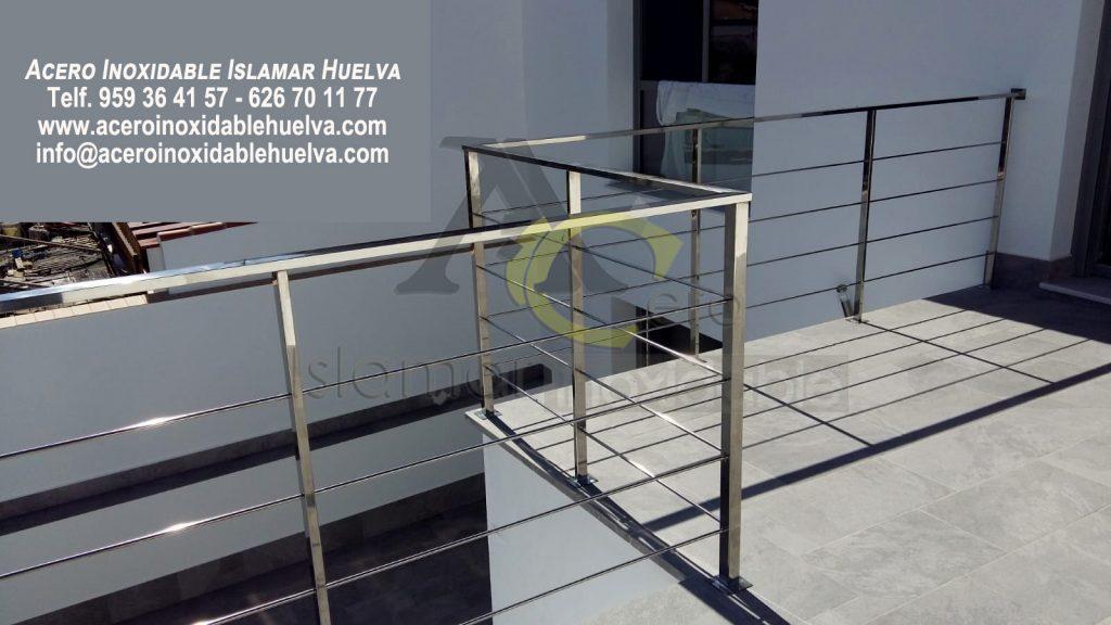 Baranda Azotea en Acero Inoxidable- Islamar Huelva