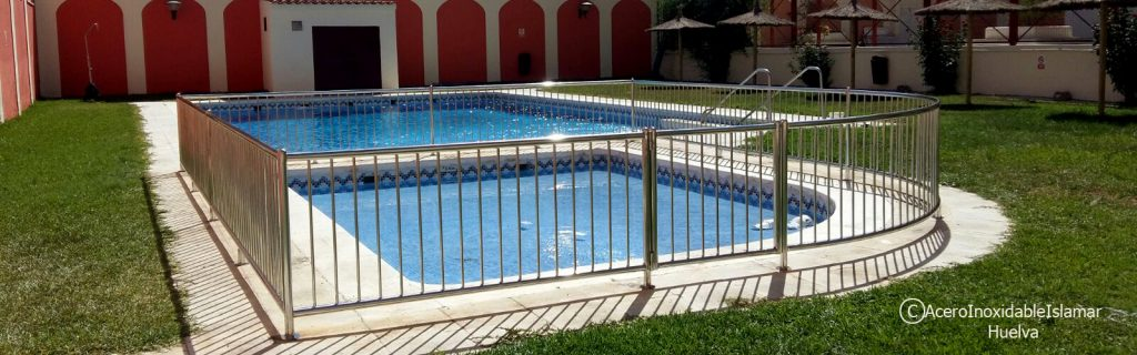 Baranda Piscina Acero Inoxidable Islamar Huelva