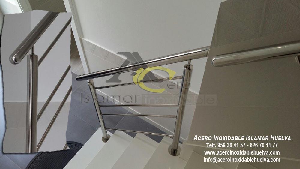 Barandilla de Escalera y Pasamano- Acero Inoxidable Islamar Huelva