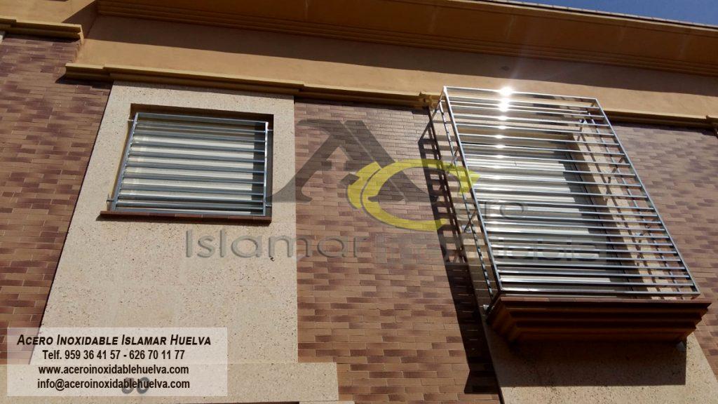 Reja en Acero Inoxidable – Islamar Huelva