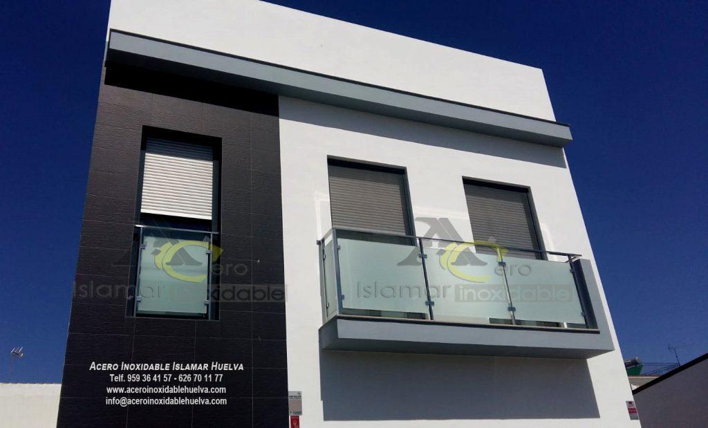 #Balcones en #Acero #Inoxidable y Cristal – Inoxidables Islamar #Huelva.