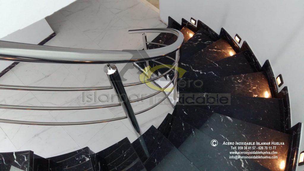 Barandas Helicoidal en Acero Inoxidables- Inoxidable Islamar Huelva