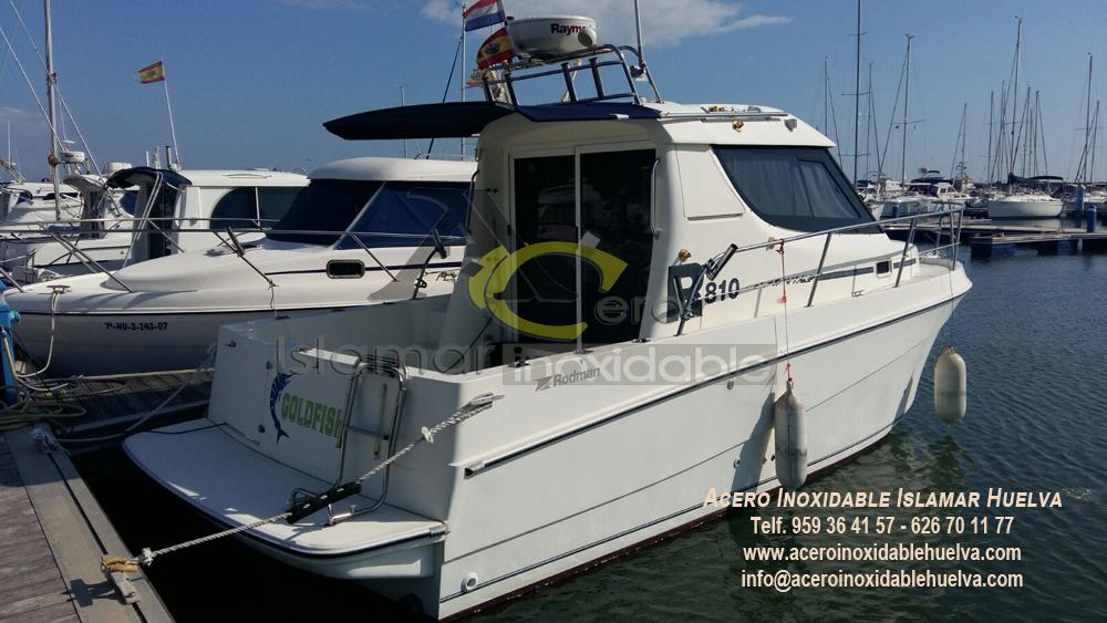 Techo barco Acero Inoxidable-Islamar Huelva