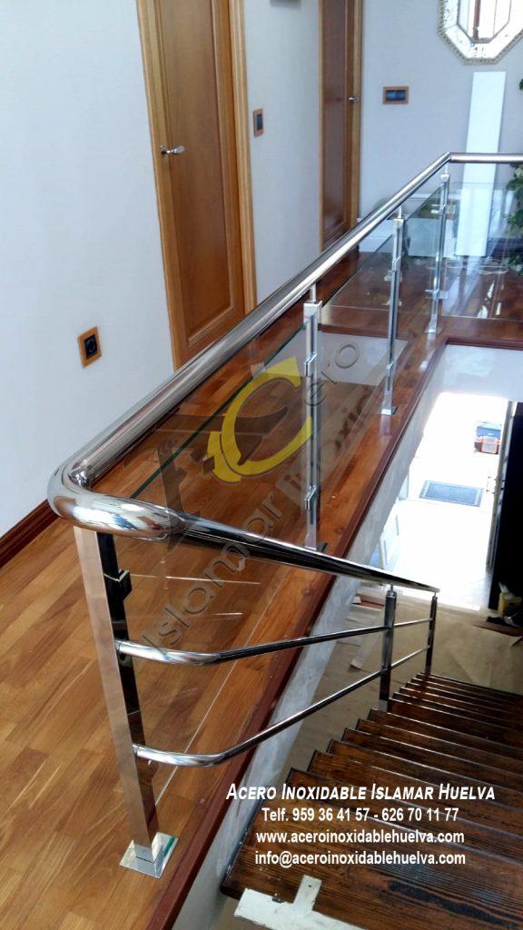 Barandas en Acero Inoxidable para escaleras-Islamar Huelva